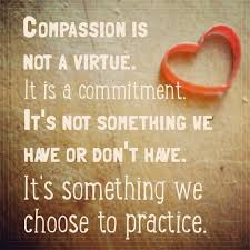 Compassion quote by Brené Brown. Meme by j.m. chasteen   Compassion quotes,  Grief, Love messages